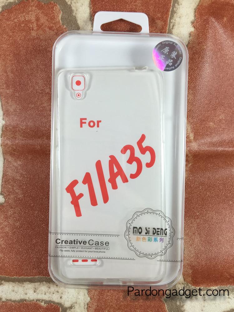 เคสTPUนิ่ม Oppo F1/A35 สีใส