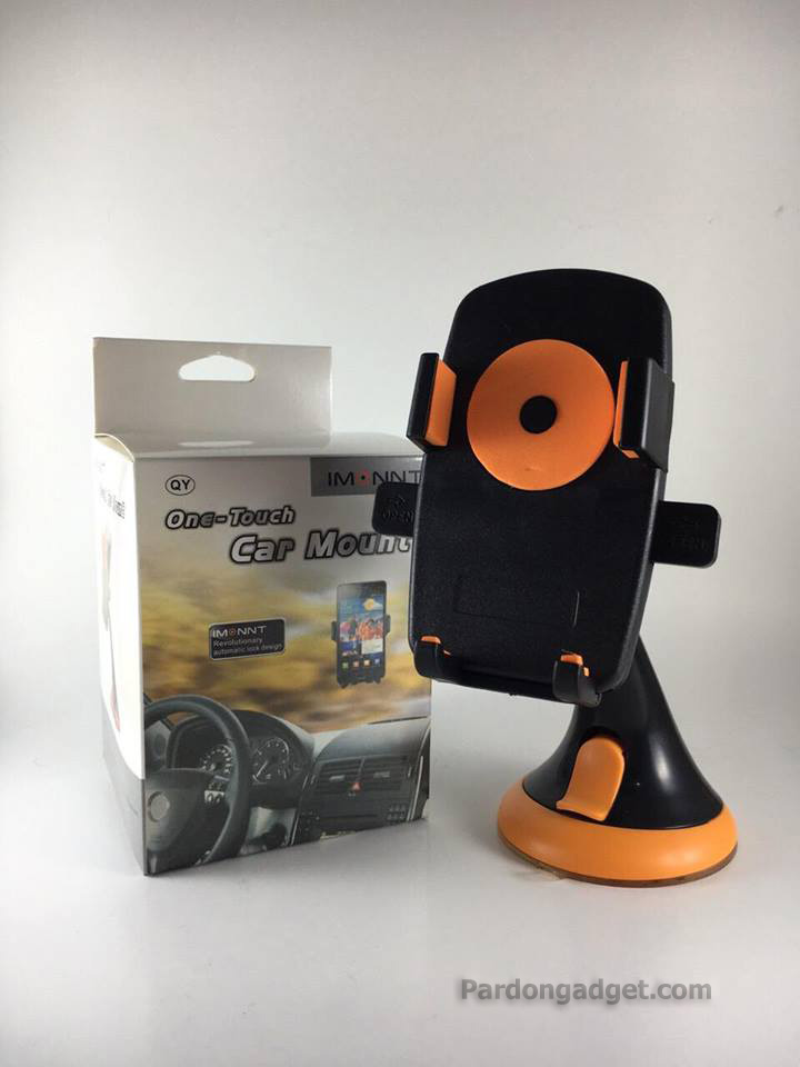 Imount One Touch Car Mount สีส้ม