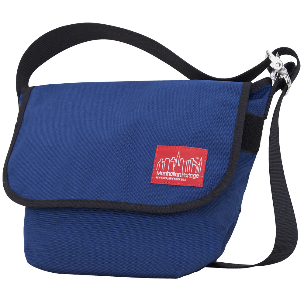 Manhattan Portage Vintage Messenger Bag – Navy Size SM