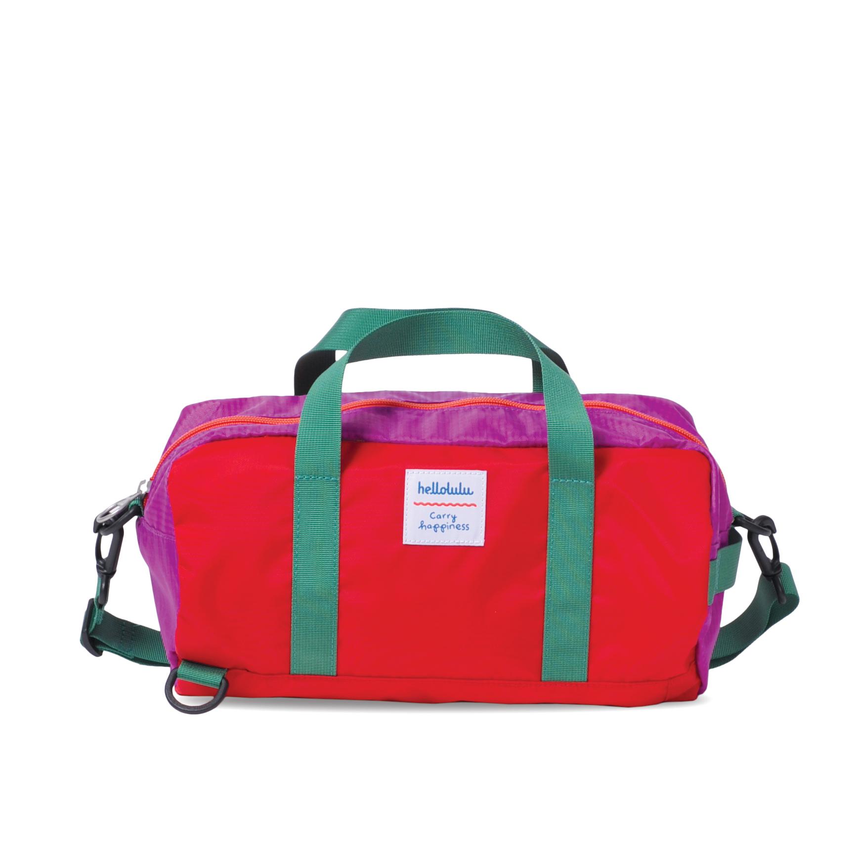 Hellolulu กระเป๋าเด็ก รุ่น BOBO - Red/Purple