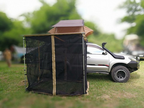 Car Tent Awning Side Mesh Room Roof Canopy Boxcar Anti