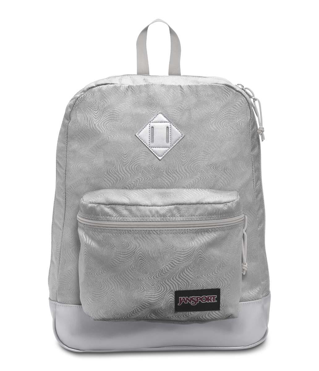 JanSport กระเป๋าเป้ รุ่น Super FX - Silver Psychedelic