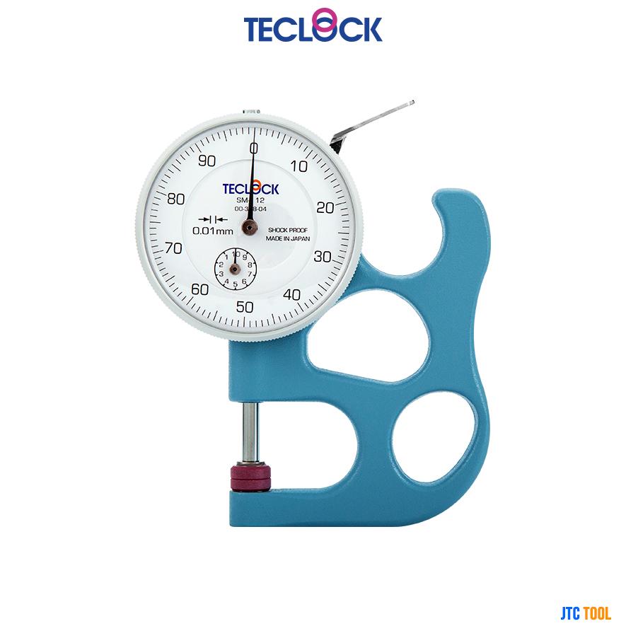 ไดอัลเกจวัดความหนา - Dial Thickness Gauge (SM-112) Teclock