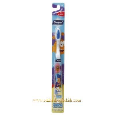 แปรงสีฟันเด็กโต Orajel Bubble Guppies Manual Toothbrush