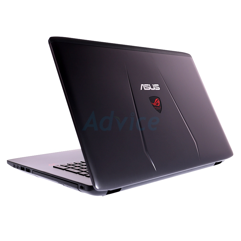 Notebook Asus GL752VW-T4153T (Gray)