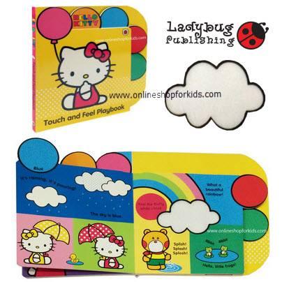 หนังสือสัมผัส Hello Kitty Touch and Feel Board Books