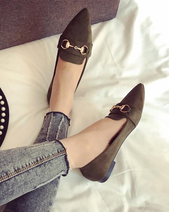 Preorder รองเท้าแฟชั่น สไตล์เกาหลี 35-40 รหัส GB-4657