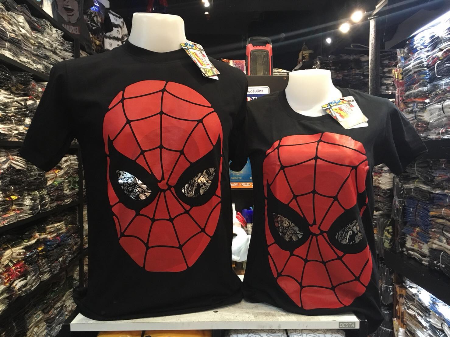 สไปเดอร์แมน สีดำ (Spiderman eye face)