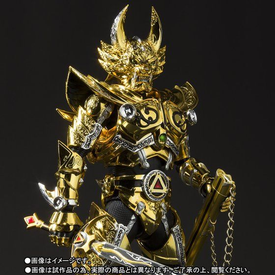 เปิดจอง S.H. Figuarts Golden Knight Garo TamashiWeb Exclusive (มัดจำ 1000 บาท)
