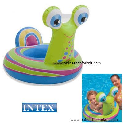 ห่วงยางสอดขา Intex See Me Sit Riders, Snail
