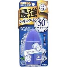 Rohto Mentholatum Sunplay Super Cool SPF 50+ PA++++ 30 g.(27 ml.) จากญี่ปุ่นค่ะ
