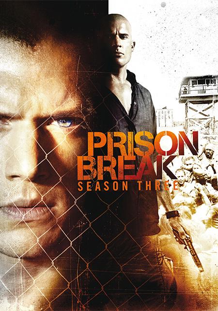 Prison Break Season 3 / แผนลับแหกคุกนรก ปี 3 / 4 แผ่น DVD (พากษ์ไทย+บรรยายไทย)