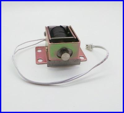 โซลินอยด์ เปิดปิดอุปกรณ์ โซลินอยด์ลิ้นชัก File Cabinet Door Electric Lock Assembly Solenoid DC 12V 0.6A Cylindrical latch