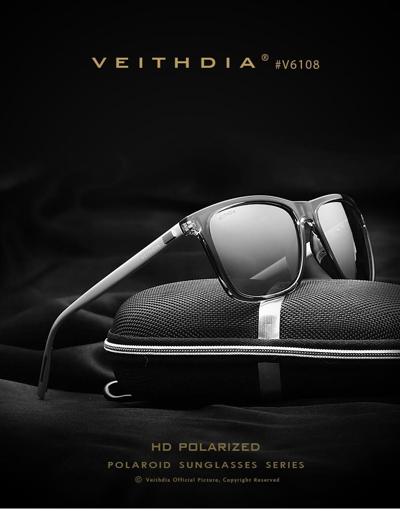 แว่นกันแดด VEITHDIA 6108 Aluminum