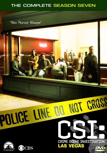 CSI: Vegas Season 7 / ไขคดีปริศนา เวกัส ปี 7 / 7 แผ่น DVD (พากษ์ไทย+บรรยายไทย)