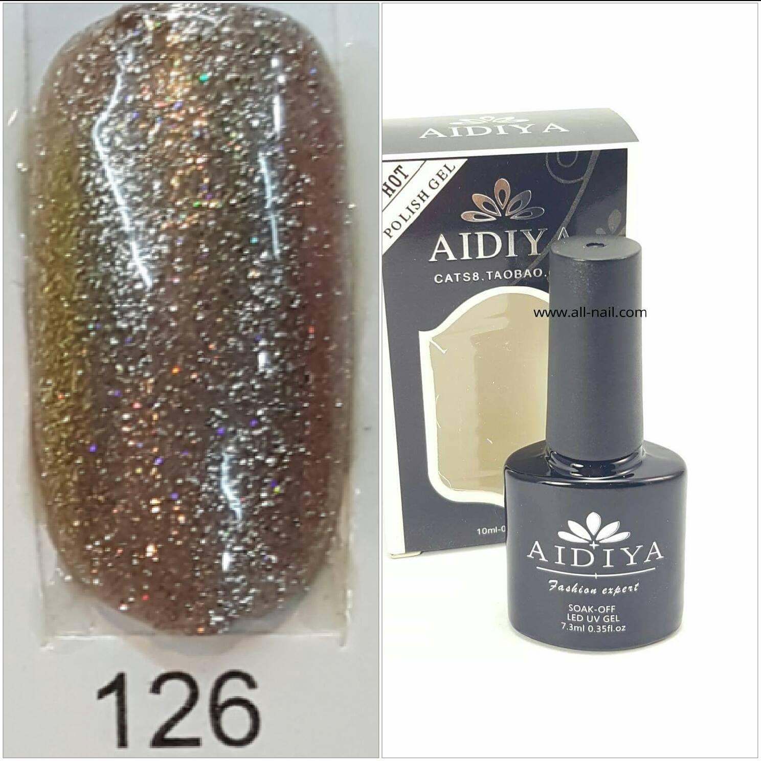 สีเจลทาเล็บ AIDIYA #126