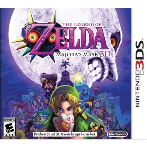 3DS: The Legends of Zelda : Majora's Mask 3D (US) [ส่งฟรี EMS]