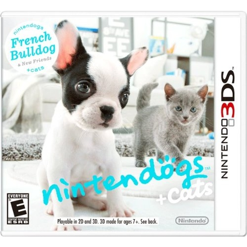 3DS: Nintendogs Cats French Bulldog New Friends (US) [ส่งฟรี EMS]
