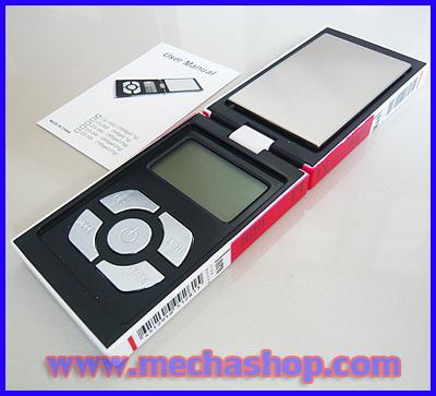 เครื่องชั่งดิจิตอล เครื่องชั่งพกพา Pocket Scale 100g ความละเอียด0.01g (ขนาดเท่าซองบุหรี่มาโบโร่แดง ราคาพิเศษ)