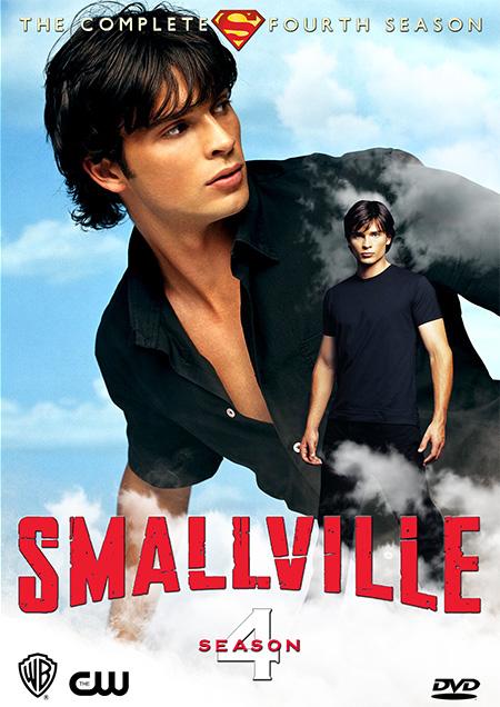 Smallville Season 4 / สมอลวิลล์ ผจญภัยหนุ่มน้อยซูเปอร์แมน ปี 4 / 12 แผ่น DVD (พากษ์ไทย+บรรยายไทย)