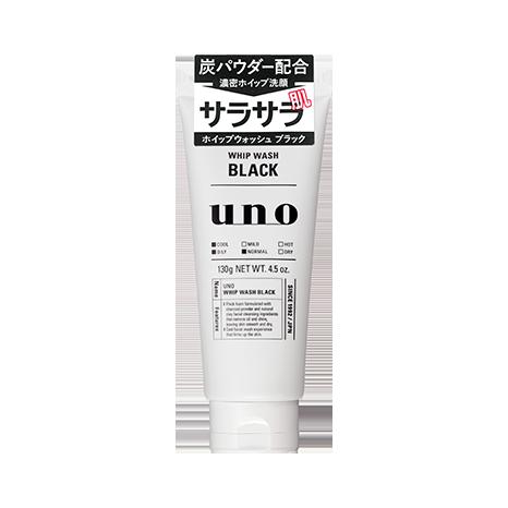 แพคเกจใหม่ SHISEIDO UNO MEN CHARCOAL BLACK CLEANER 130g