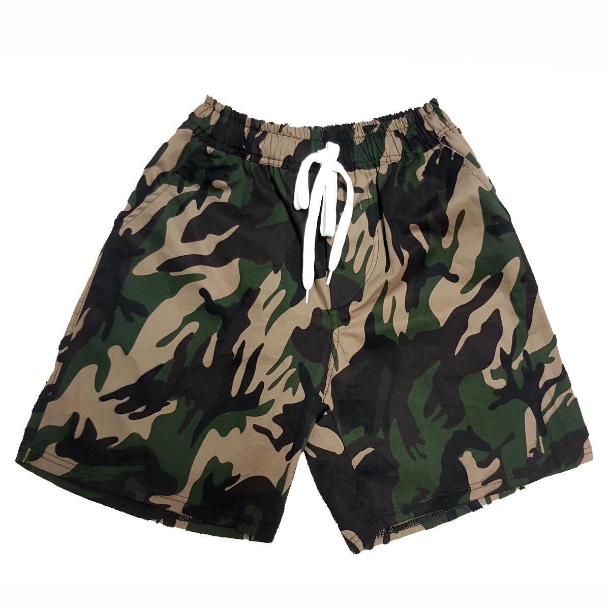 กางเกงขาสั้น SPORT รหัส229 ทหารพราง