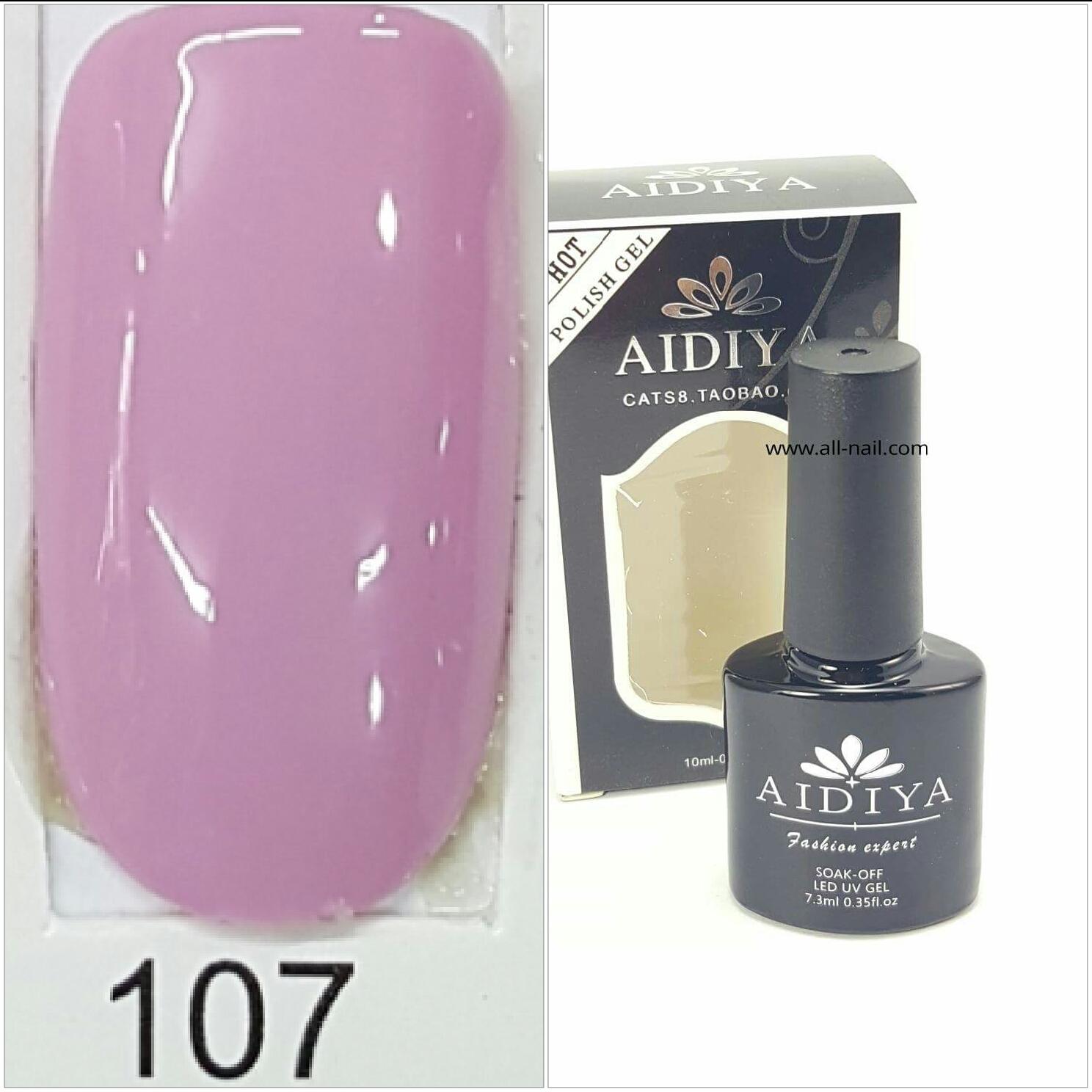 สีเจลทาเล็บ AIDIYA #107