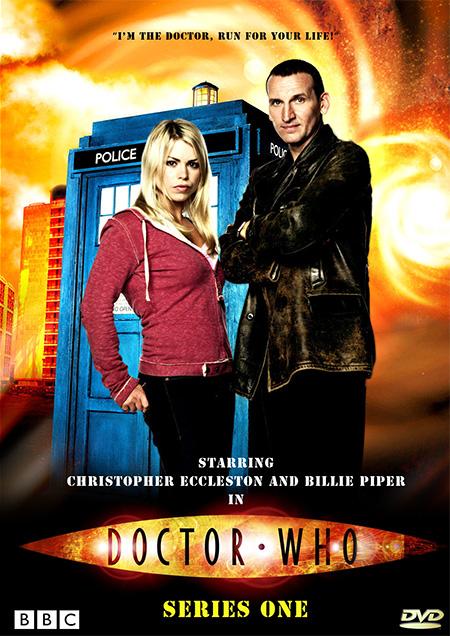 Doctor Who Season 1 / ด๊อกเตอร์ฮู กู้วิกฤตจักรวาล ปี 1 / 4 แผ่น DVD (พากษ์ไทย+บรรยายไทย)