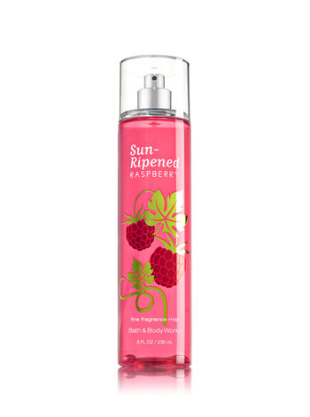 Bath&Body works fine fragrance mist Sun-ripened Raspberry ขวดใหญ่ 8 oz (236 ml) หอมมากๆค่ะ