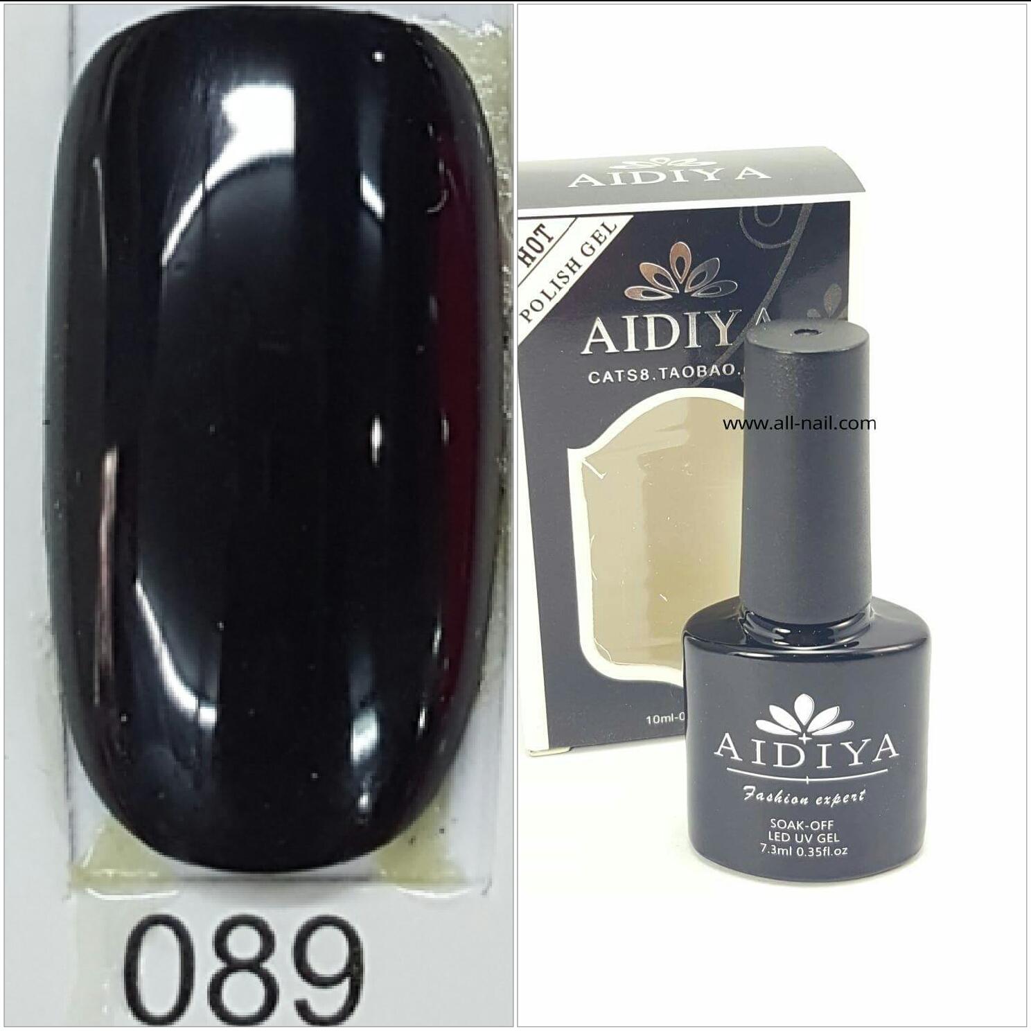 สีเจลทาเล็บ AIDIYA #089