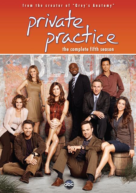 Private Practice Season 5 / ไพรเวท แพร์คทิส ปี 5 / 5 แผ่น DVD (บรรยายไทย)