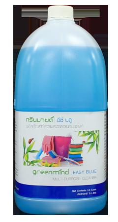 ผลิตภัณฑ์ทำความสะอาดอเนกประสงค์ กรีนมายด์ อีซี่ บลู