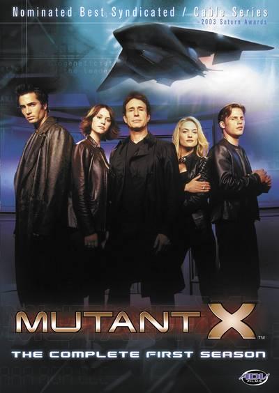 Mutant X Season 1 / ทีมอันตรายพยัคฆ์ร้ายพันธุ์เอ็กซ์ ปี 1 / 6 แผ่น DVD (พากษ์ไทย+บรรยายไทย)