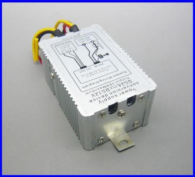 ดีซี คอนเวอร์เตอร์ เครื่องแปลงไฟDC Converter 24VDC universal to 12VDC 30A (สำหรับอุปกรณ์ที่ใช้ไฟ12Vทุกชนิด)