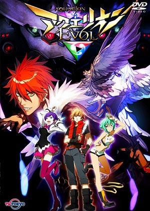 Aquarion EVOL / อควอเรียน อีโวล / 9 แผ่น DVD (พากย์ไทย+บรรยายไทย)