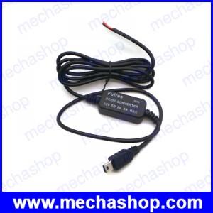ดีซีคอนเวอร์เตอร์ ตัวแปลงไฟDCเป็นDC Converter Input 12V to 5V Output Voltage USB Type-B mini