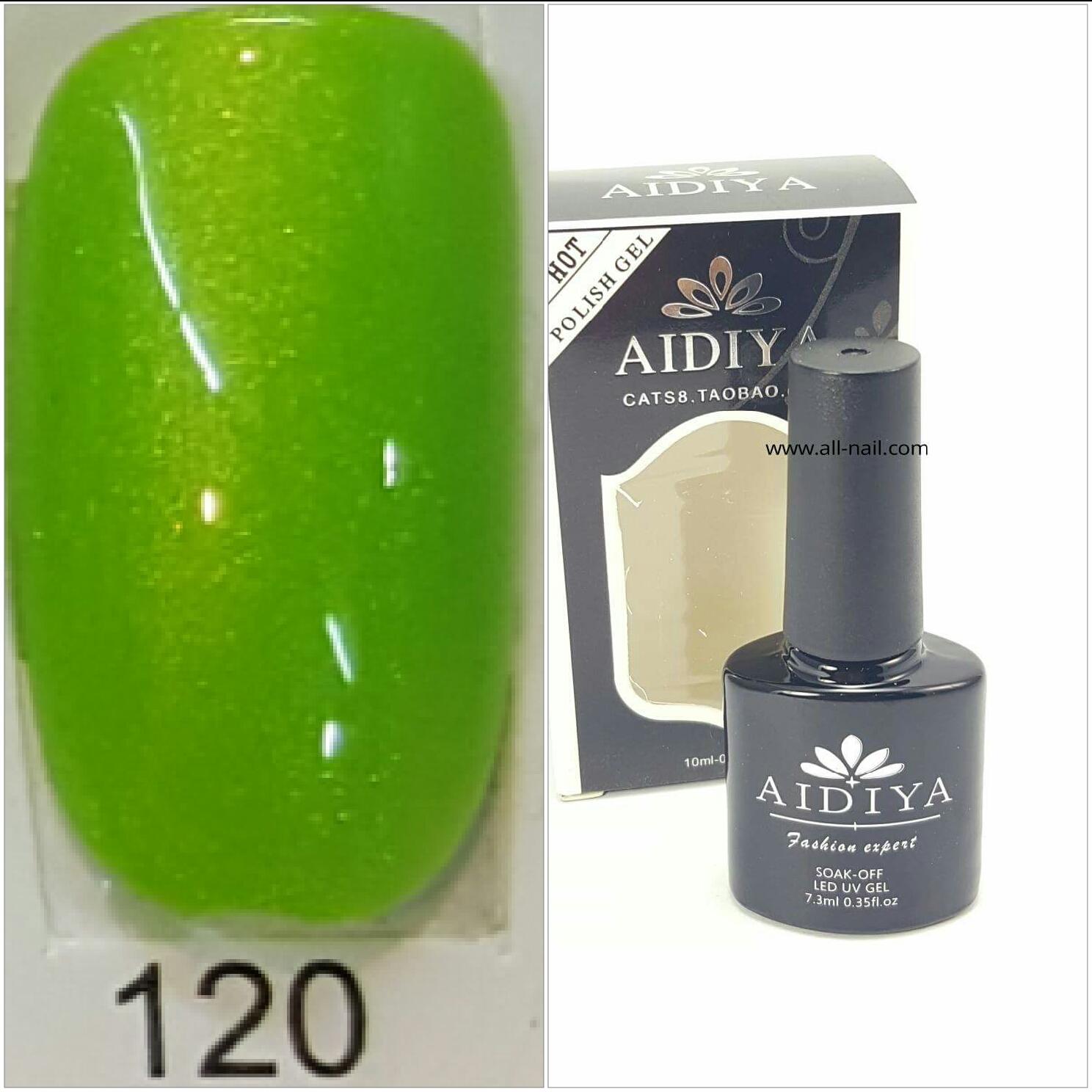 สีเจลทาเล็บ AIDIYA #120