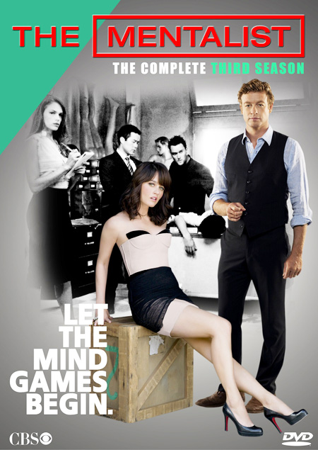 The Mentalist Season 3 / เดอะ เมนทัลลิสท์ เจาะจิตผ่าปริศนา ปี 3 / 5 แผ่น DVD (บรรยายไทย)