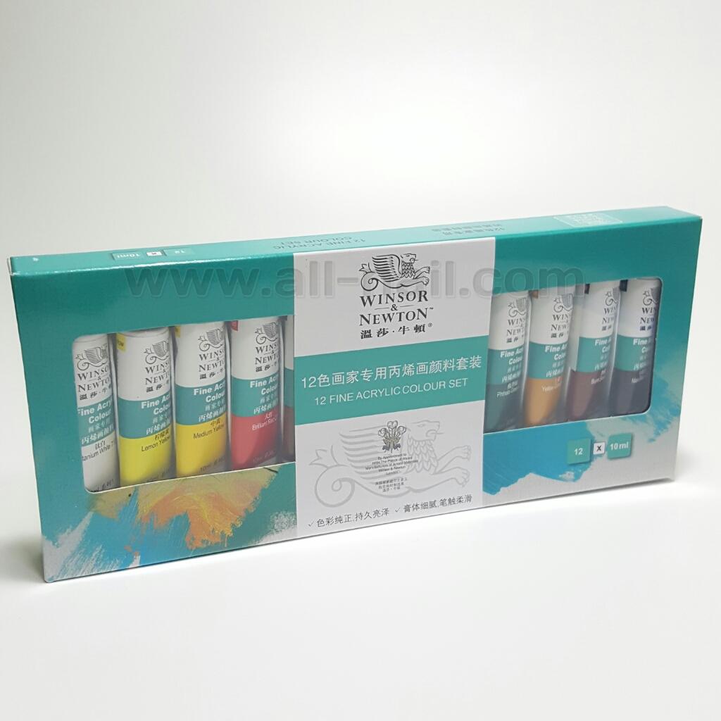 สีอะคริลิคเพ้นท์เล็บ 12สี (10ml.)