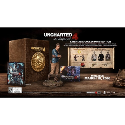 PS4: Uncharted 4 : A Thief's End - Libertalia Collector's Edition (Z3)