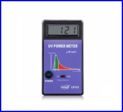 เครื่องวัดแสงยูวี ยูวีมิเตอร์ UV power meter 290-380nm LS123 UV Power Meter Tester Spectral Wavelength Power Meter (Pre-order 2 week)