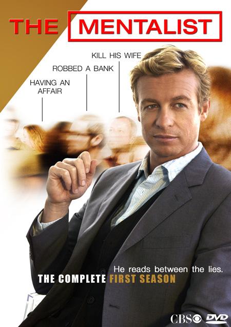 The Mentalist Season 1 / เดอะ เมนทัลลิสท์ เจาะจิตผ่าปริศนา ปี 1 / 6 แผ่น DVD (บรรยายไทย)