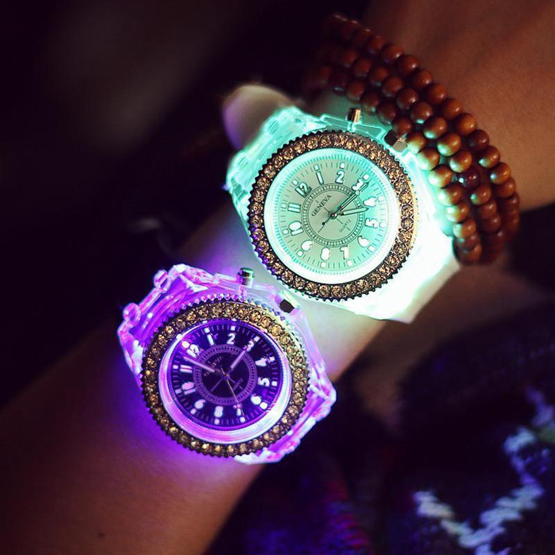 นาฬิกา LED Sport สำหรับผู้หญิง