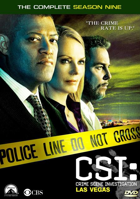 CSI: Vegas Season 9 / ไขคดีปริศนา เวกัส ปี 9 / 7 แผ่น DVD (พากษ์ไทย+บรรยายไทย)