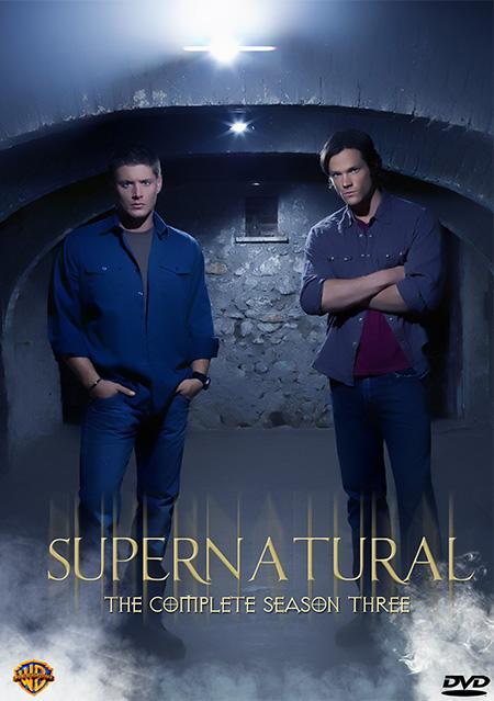 Supernatural Season 3 / ล่าปริศนาเหนือโลก ปี 3 / 5 แผ่น DVD (พากษ์ไทย+บรรยายไทย)