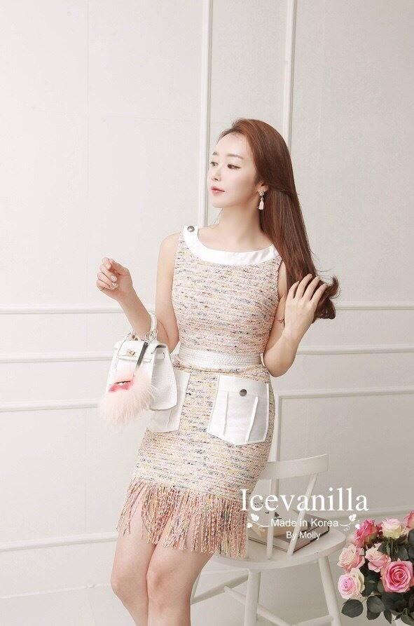 Luxurious tweed Dress