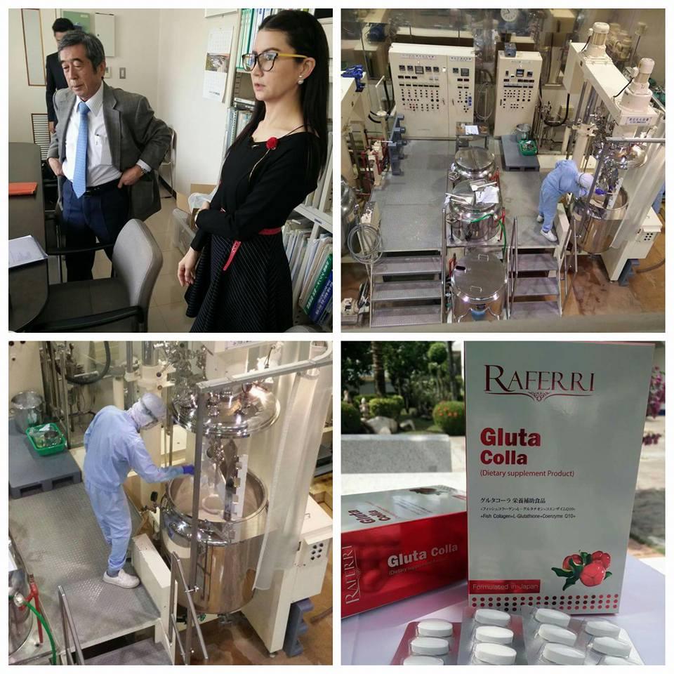 โรงงานผลิต Raferri Gluta Colla ราเฟอรี่ กลูต้าคอลลาเจน