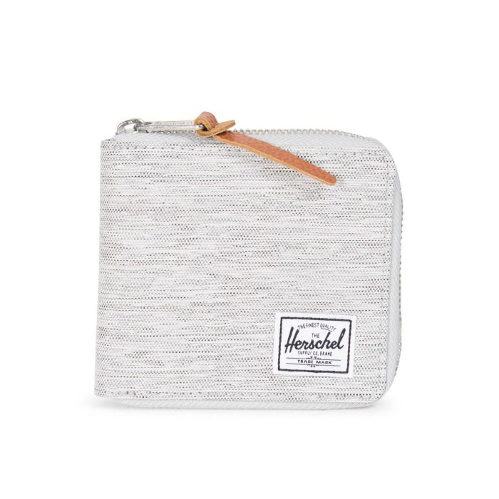 Herschel Walt Wallet - Light Grey Crosshatch