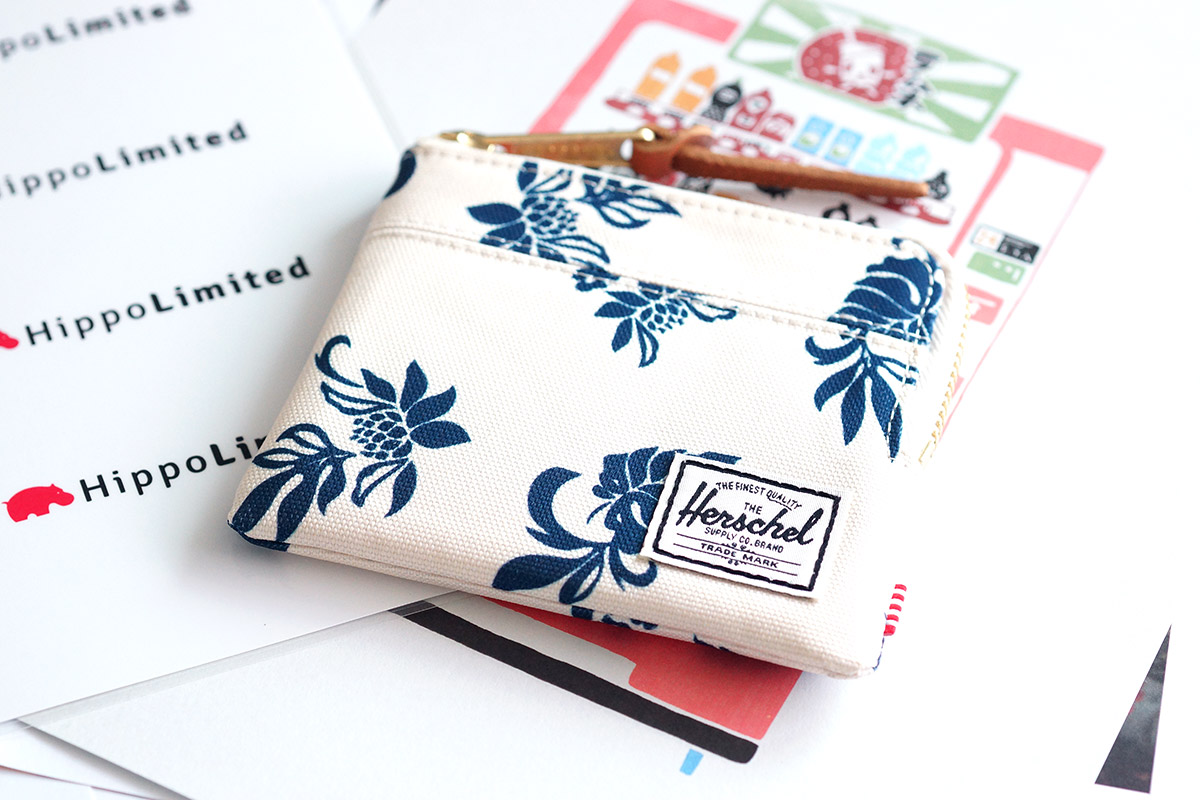 Herschel Johnny Wallet - Tropical Flora
