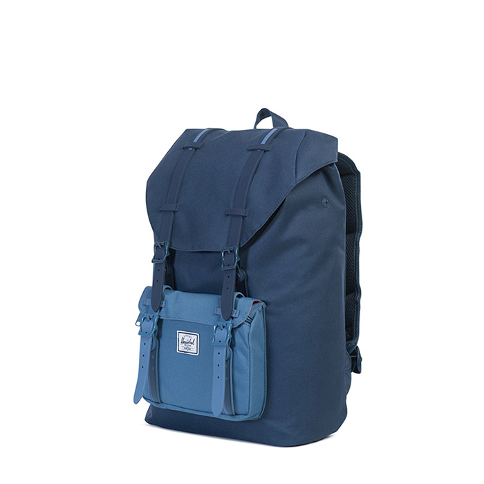 Herschel Little America | Mid Volume - Navy / Captain's Blue / Navy Rubber